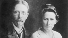 August and Marie Krogh, co-founders of Novo Nordisk