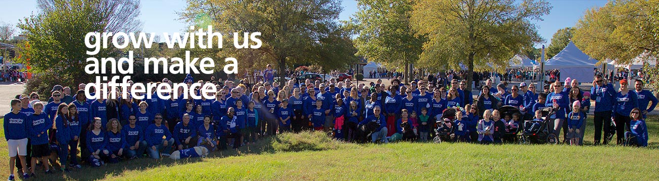 Novo Nordisk employees along with their friends and families in Clayton, NC participating in a community event