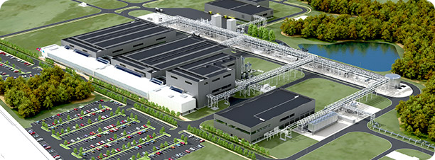 Novo Nordisk active pharmaceutical ingredient manufacturing facility (DAPI) in Clayton, NC
