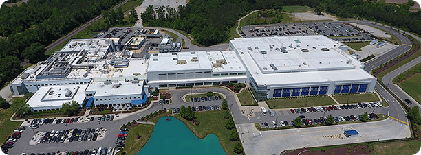 Novo Nordisk filling and finishing facility (DFP) in Clayton, NC