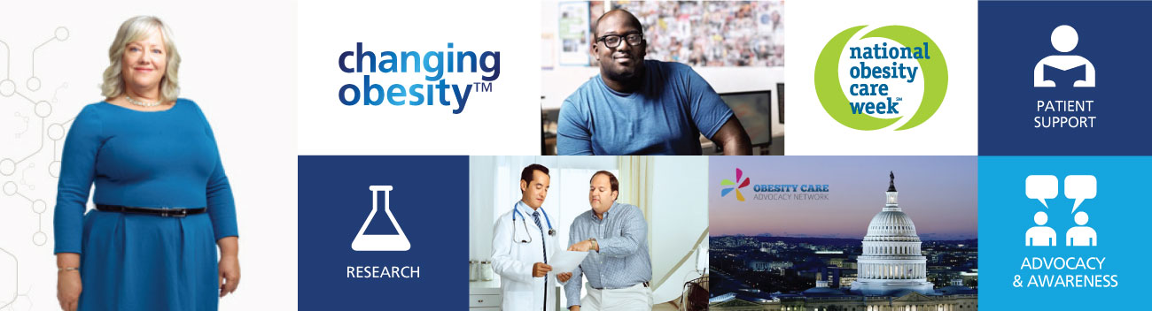 Novo Nordisk obesity care collage