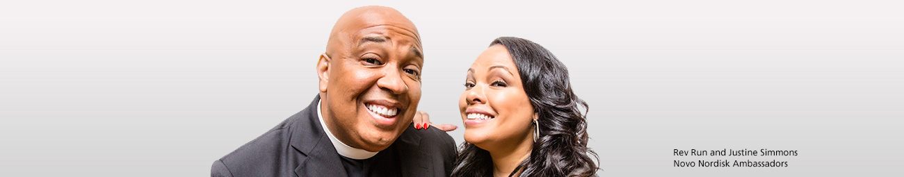 Rev Run and his wife Justine Simmons