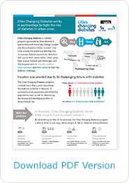 Download a PDF of the Cities Changing Diabetes infographic