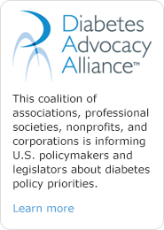 Learn about Diabetes Advocacy Alliance™