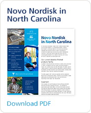 Learn about Novo Nordisk in North Carolina