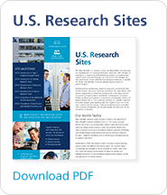 Learn about Novo Nordisk's U.S. research sites