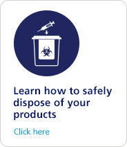 Learn how to safely dispose of your injectable medicines